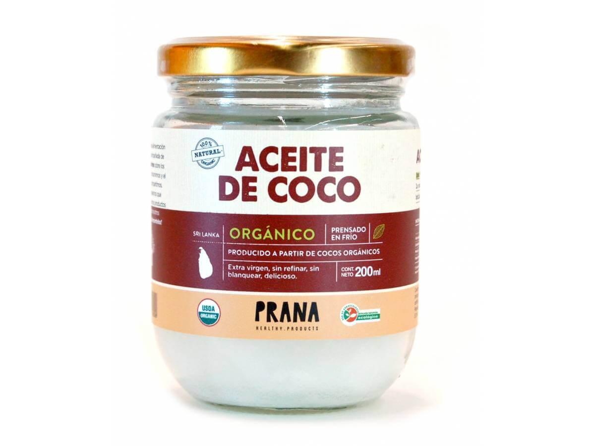 Aceite de coco org nico prana 200 ml tito tienda gourmet for Aceite de coco para cocinar
